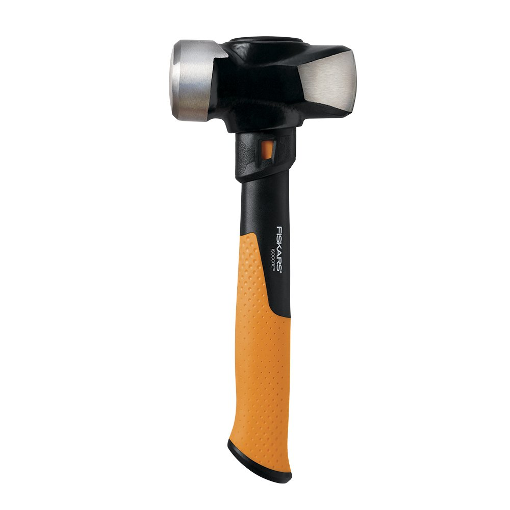 Fiskars IsoCore 3 Pound Club Hammer, 11 Inch