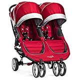 Baby Jogger 2017 City Mini Double (Crimson/Gray)