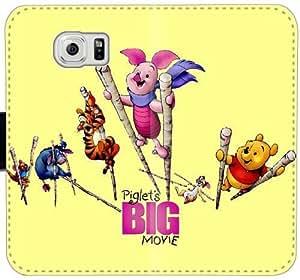 Caja del cuero del cochinillo Y3Y6B Funda Samsung Galaxy S6 Edge Plus funda 3L4x5c Personalizar teléfono celular fundas caso del tirón