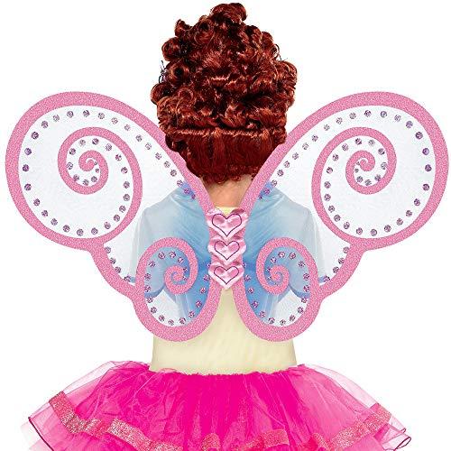 Suit Yourself Fancy Nancy Butterfly Wings Halloween Costume Accessory for Children, Fancy Nancy, One Size]()