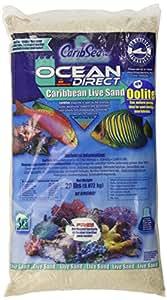 Carib Sea ACS01920 Ocean Direct Oolite Sand for Aquarium, 20-Pound, PAck of 2