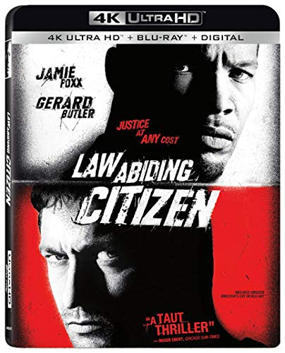 4K Blu-ray : Law Abiding Citizen (With Blu-ray, 4K Mastering, Digital Copy, Widescreen, 2 Pack)