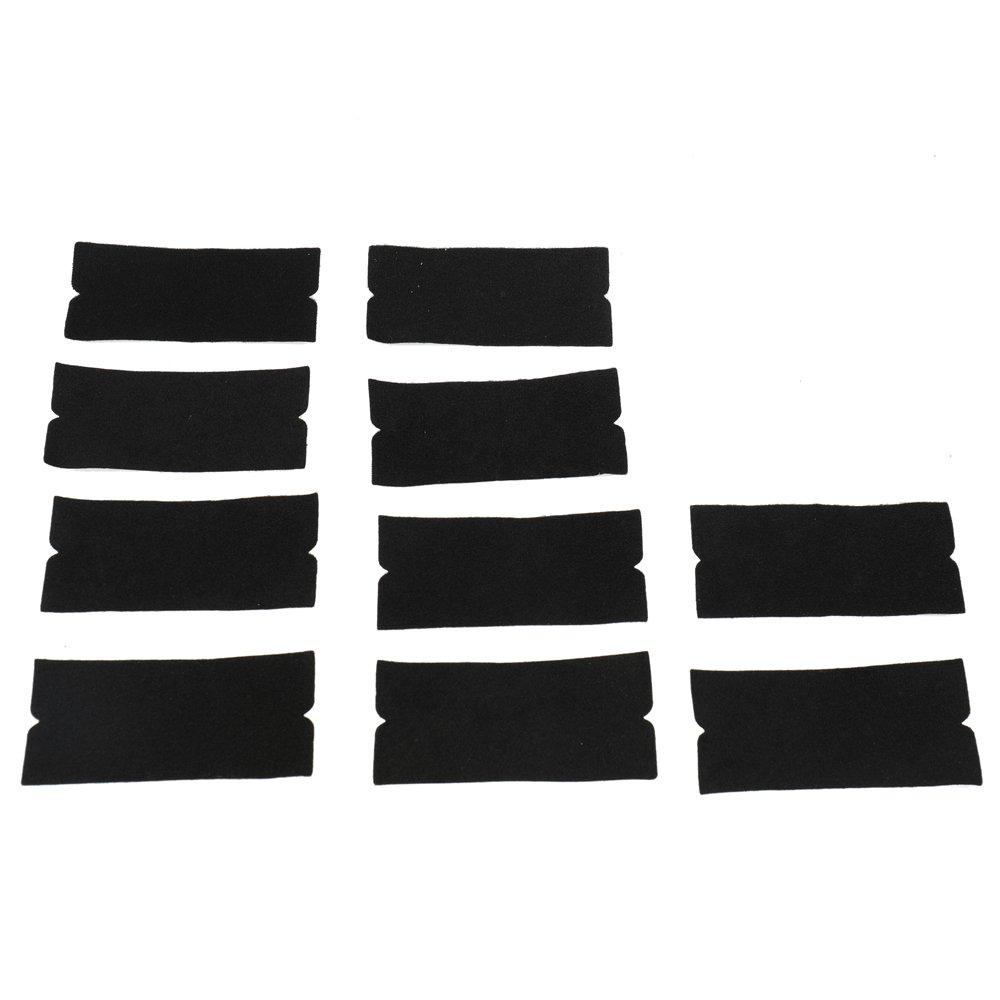 KKmoon 10 pcs Film Professionnel Ensemble Fen/être Teinte Wrapping Outils de Voitures Scratch-gratuit Grattoirs Raclettes Autocollants Kit de V/éhicules