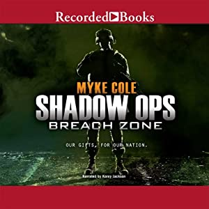Shadow Ops, Book 3: Breach Zone Audiobook