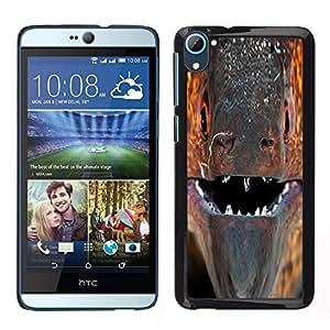 """For HTC Desire D826 , S-type murena Ryba pasado Vzglyad makro"""" - Arte & diseño plástico duro Fundas Cover Cubre Hard Case Cover"""