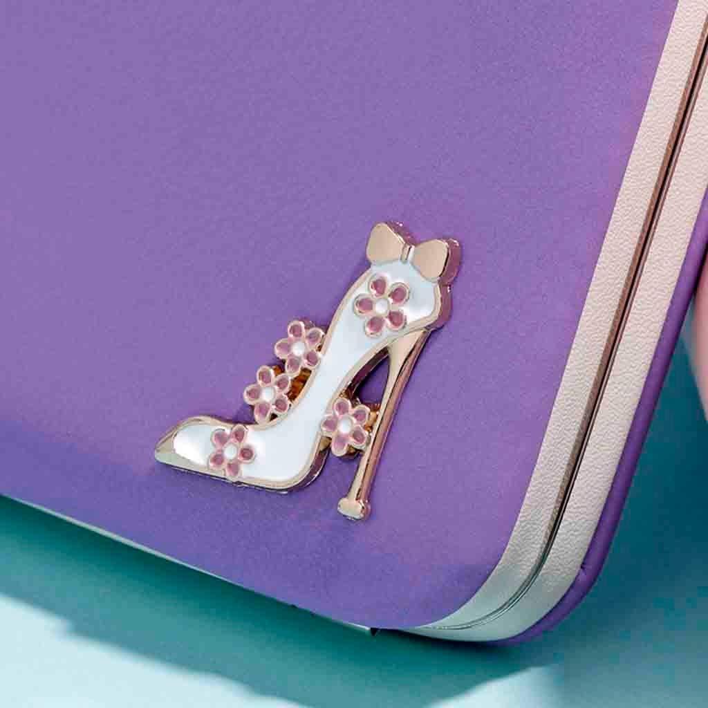 FarJing Women Fashion Multi-Function Long Creative Mobile Phone Bag Wallet Card Pack Coin Purse