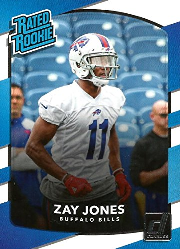 2017 Donruss #309 Zay Jones Buffalo Bills Rated Rookie