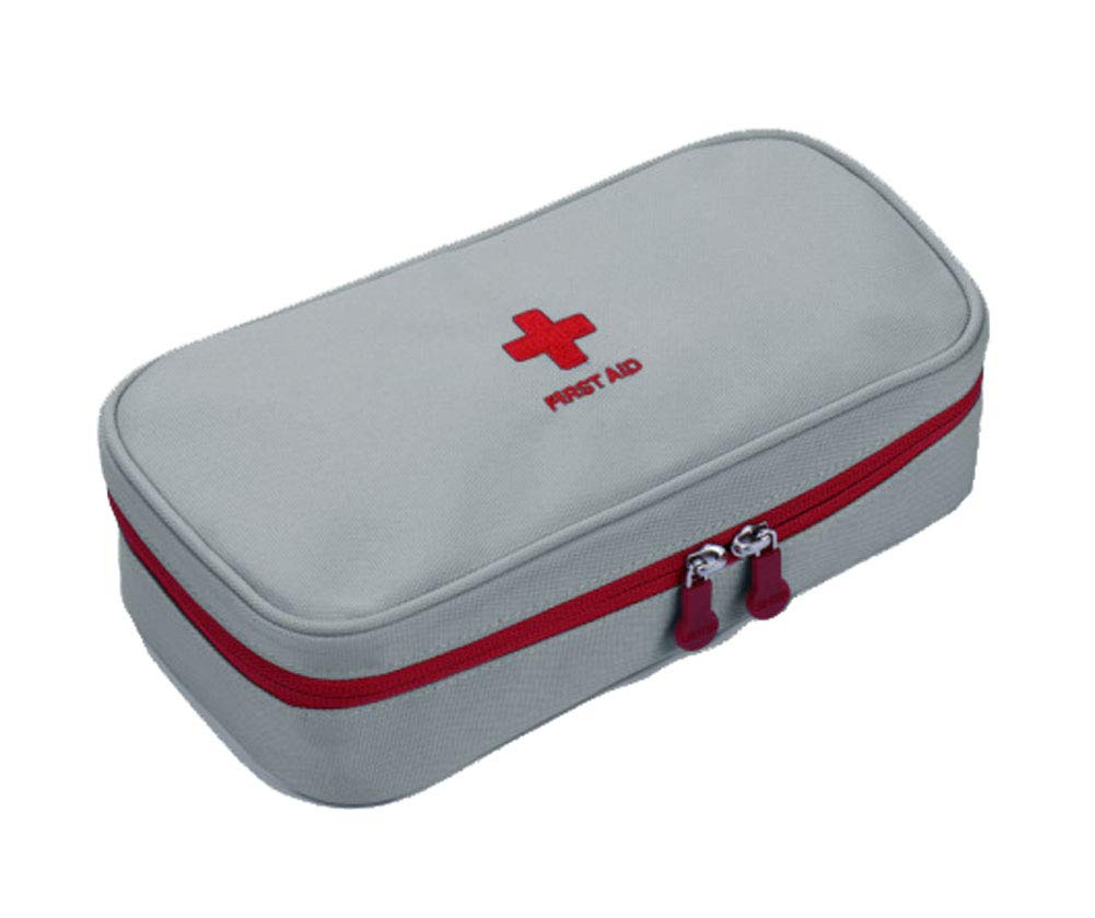 Outdoor Travel Home First Aid Kit Portable Medicine Storage Bag, Gray