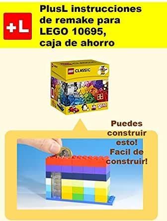 PlusL instrucciones de remake para LEGO 10695,caja de ahorro ...