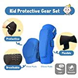 Innovative Soft Kids Knee and Elbow Pads with