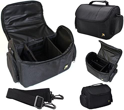 New Large Deluxe Camera Carrying Bag Case for Nikon D3400 D5600