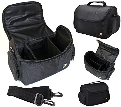 Deluxe Large Camera Carrying Bag Case For Sony A5000 A5100 ILCE-5000 ILCE-5100 by Xit Photo
