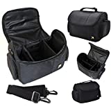 Large Deluxe Camera Camcorder Carrying Bag Case For Sony FDR-AX53