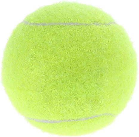 FGDSSE Pelota de Tenis para Perros de 6 cm Juguete para Mascotas ...