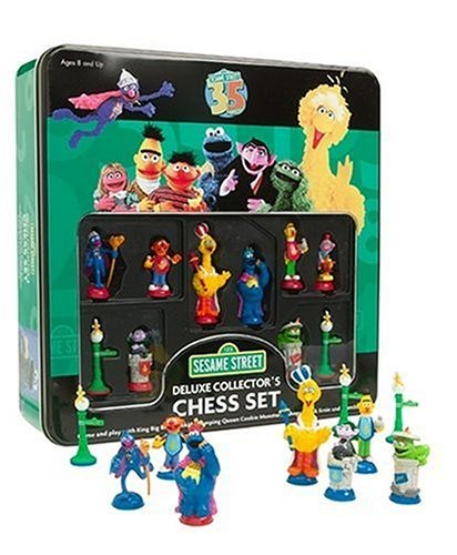 Amazoncom Sababa Toys Sesame Street Deluxe Chess Toys Games