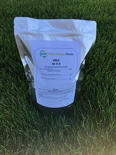 (Easy Peasy Urea Fertilizer- 46-0-0 Plant Food 5 Pound Bag)