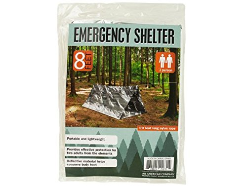 K&A Company Emergency Shelter 2 Person Portable Lightweight Design Case of 16 by K&A Company