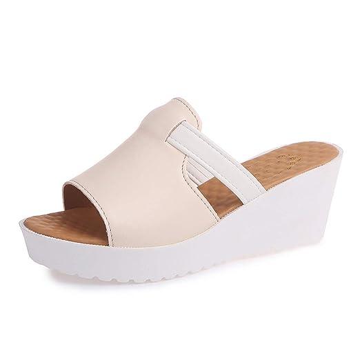 457fb0f087490 Amazon.com: {Minikoad} Women Wedges Thick Platforms Shoes,Ladies ...