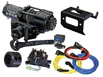 KFI Combo Kit - SE25 Stealth Winch & Winch Mount - 2014-2018 Honda Rancher TRX420 FM1/FM2