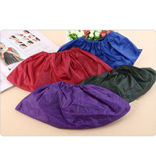 1 Pair: Blue HuaYang Imperm/éable /à leau de pluie de couverture de chaussure r/éutilisables