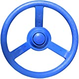 "Jungle Gym Kingdom 12"" Playground Plastic Steering Wheel - Blue"
