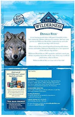 Blue Buffalo Wilderness Stix Grain Free Soft-Moist Dog Treats