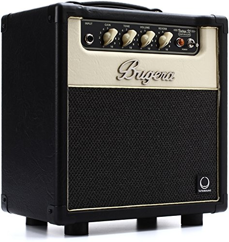 BUGERA V5 5-Watt Class Amplifier Combo with Infinium Tube Life Multiplier Black (V5INFINIUM