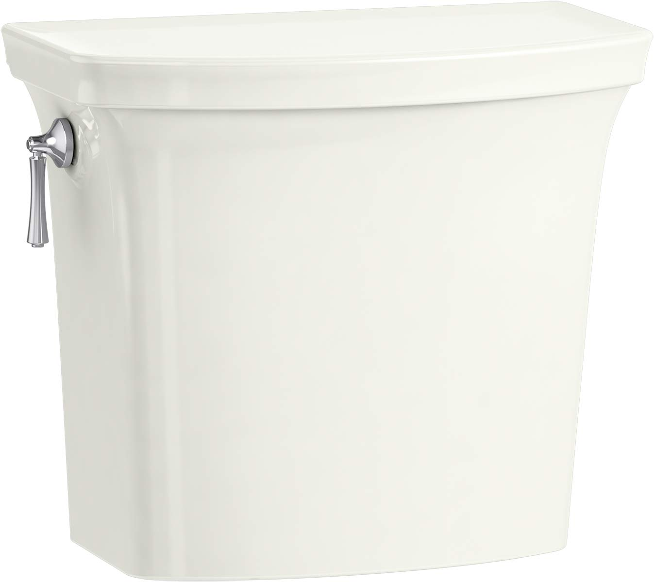 Kohler K-5711-NY Corbelle with ContinuousClean 1.28 gpf AquaPiston Flush Technology and Left-Hand Trip Lever toilet tank Dune