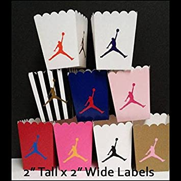 cc622a5b3b7 19 Assorted Bubble Gum Pink - Air Jordan - Jumpman Logo Vinyl Label Stickers  Decals for