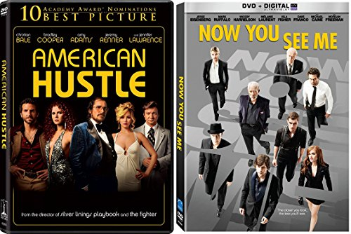 Ensemble Cast Collection - Now You See Me & American Hustle 2-DVD Bundle