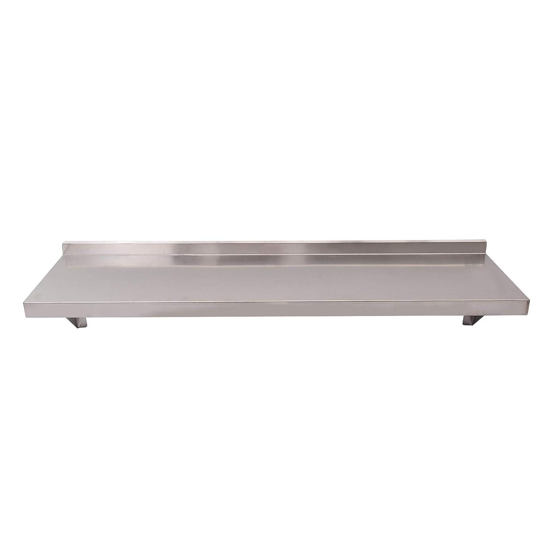 Stainless Steel Shelves Commercial Kitchen Clean Room Wall Shelf W// Brackets UK