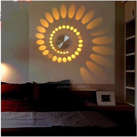 Moderne LED Wandleuchte Mit Streulicht Entwurf AC85v ~ 265V, 3W  Wandtattoo  Grün: Amazon.de: Küche U0026 Haushalt