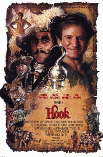 Hook 11 x 17 Movie Poster - Style B