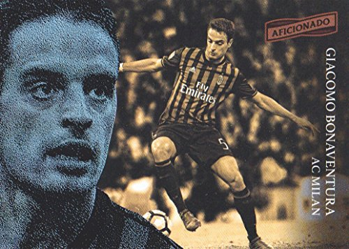 2016-17 Panini Aficionado Soccer #39 Giacomo Bonaventura AC Milan