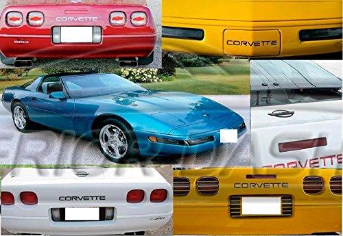 corvette c4 chrome letters - 9
