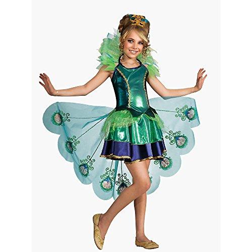 Rubies Peacock Fairytale Bird Costume