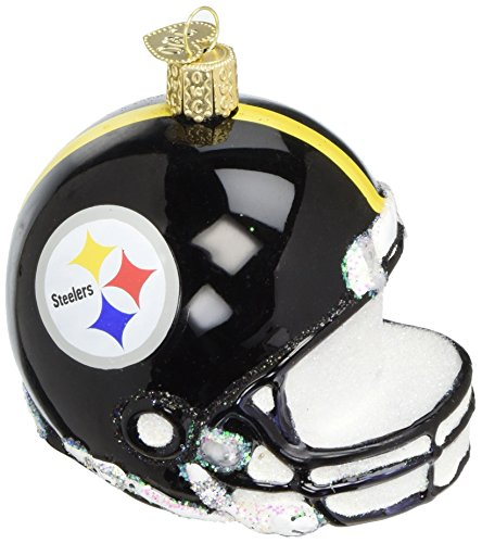 Old World Christmas Glass Blownn Ornament Pittsburgh Steelers -