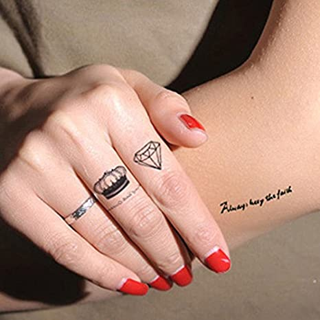 ryedge (TM) 1pcs Sexo Fashion falso tatuaje temporal Tatoo Hombre ...