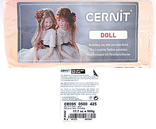 Cernit Oven-Bake Modeling Clay for Making Dolls and ()