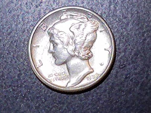 1939 90% Silver Mercury Dimes GEM BU 10c Choice Brilliant Uncirculated ()