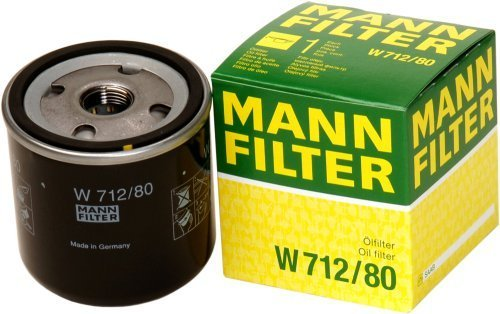 Mann-Filter W 712/80 Spin-on Oil Filter by Mann Filter