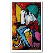"Groovin' by Kennith Humphrey 15""x25.5"" Art Print Poster"