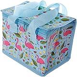 Woven Cool Bag Lunch Box - Lauren Billingham Flamingo
