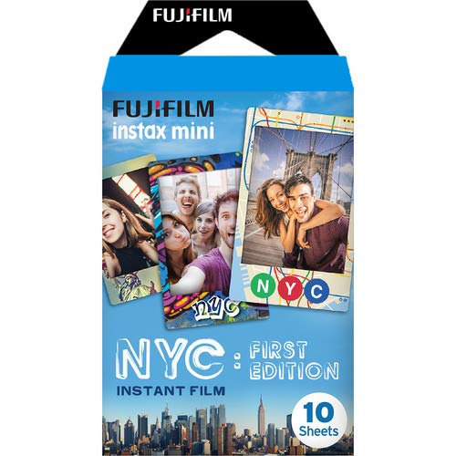 Fujifilm instax mini NYC First Edition Instant Film (10 Exposures) by Fujifilm