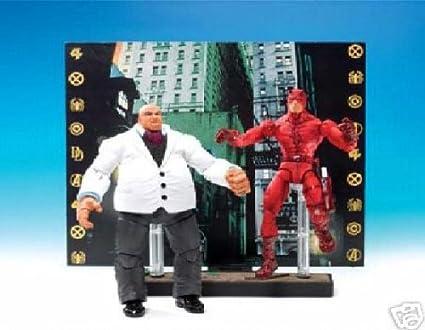 Marvel Legends Kingpin vs Daredevil Action Figure 2 Pack: Amazon ...