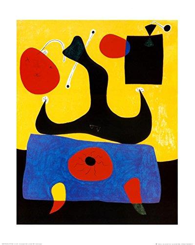 - Femme Assise Art Print Art Poster Print by Joan Miró, 16x20