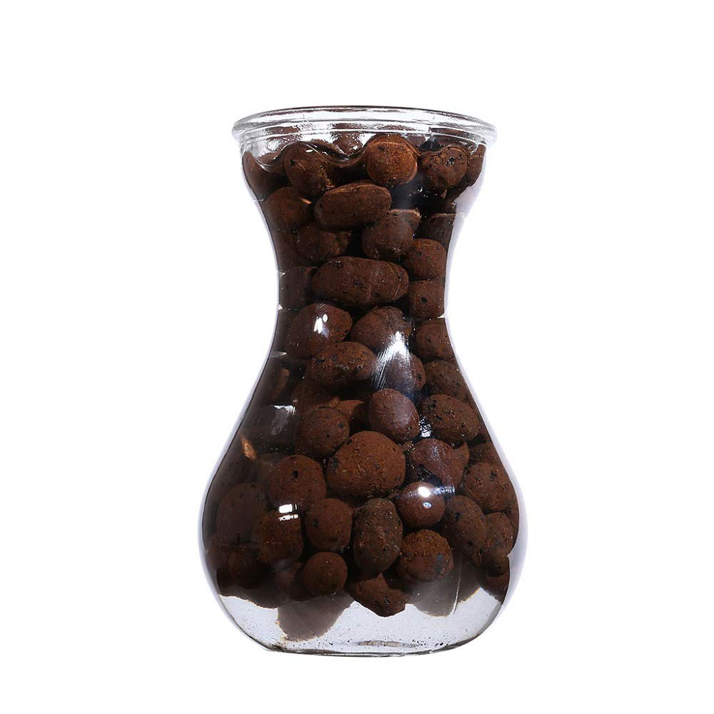 Festnight Clay Pebbles Hydroton Orchids Aquaculture Filter Anion Organic Expanded Clay Pebbles Grow Media Organic Expanded Clay Pebbles Grow Media