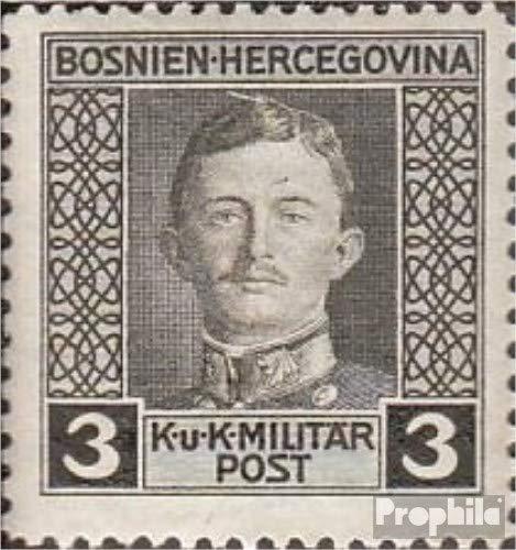 Prophila Collection Österr.-Bosnien-Herzeg. 124C, gezähnt L12,5:11,5 1917 Karl I. (Briefmarken für Sammler)