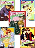 Love Is Like a Hurricane, by Tokia Shimazaki, Volumes 1-5, Complete in English