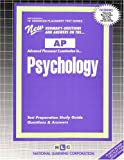 Psychology, Rudman, Jack, 0837362199